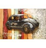Eliassen 3D schilderij metaal 80x120cm VW Kever