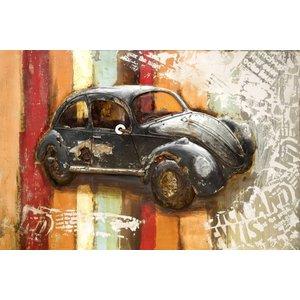Eliassen 3D painting metal 80x120cm VW Beetle