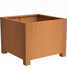Adezz Producten Andean flower box with legs Adezz corten steel