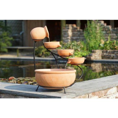 Ubbink Waterfall element Ubbink terracotta 2 sizes