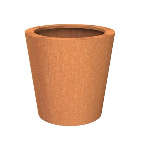 Adezz Producten Flowerpot Corten steel Adezz Cado in 4 sizes