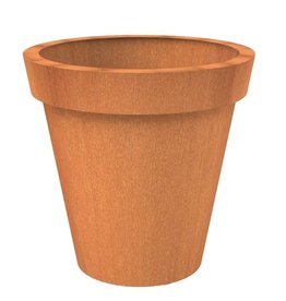 Adezz Producten Blumentopf Cortenstahl Adezz Celso extra groß