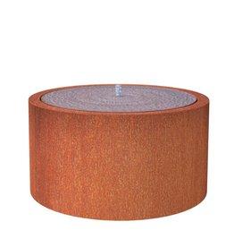 Adezz Producten Water table Adezz around corten steel in 6 sizes