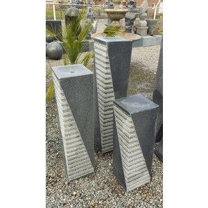 Eliassen Straight water pillars thick in 3 sizes