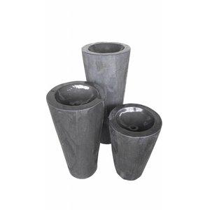 Eliassen Wasservase in 3 Größen