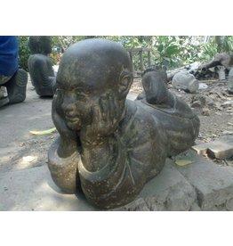Eliassen Child monk statue lying in 6 sizes buddhist