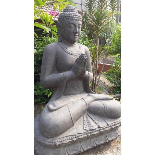 Eliassen Gruß Buddha Statue auf Lotus in 6 Größen