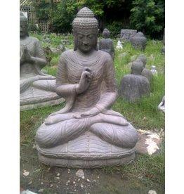 Eliassen Buddha-Statue auf Lotus Chakra in den Größen 6