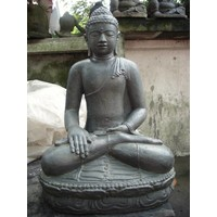 Buddha statue on Lotus Earth in 6 sizes