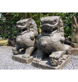 Eliassen Lions set chinese temple guards in 3 sizes
