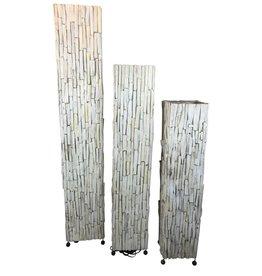Eliassen Floor lamp wood Wood White