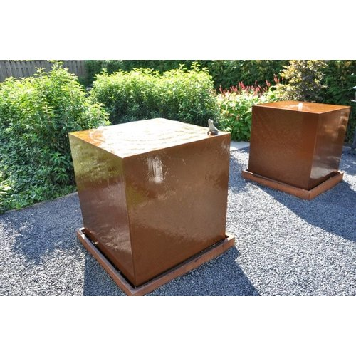 Adezz Producten Waterblock Corten steel Adezz in 2 sizes