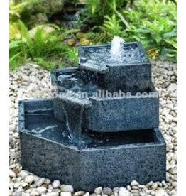 Eliassen Fountain Cascade granite