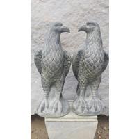 Adler-Skulptur Garten Satz von 2