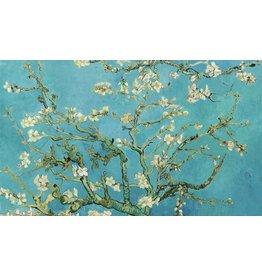 Dibond Malerei Mandelblüte 118x70cm