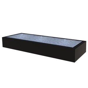 Adezz Producten Wassertisch Adezz rechteckig Aluminium in 3 Größen