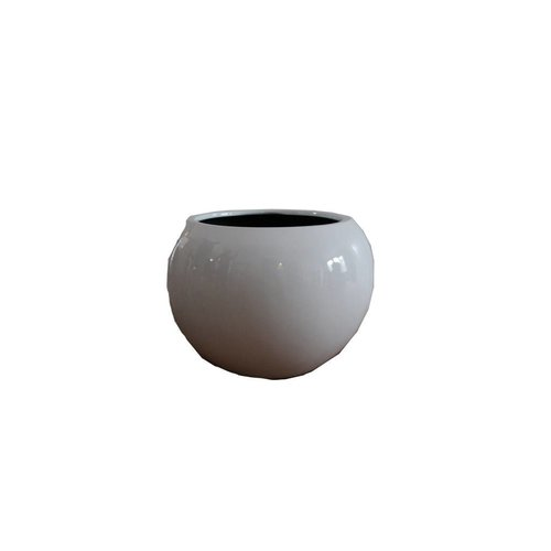 Eliassen Bulb pot around Codi gloss in white or black 40cm