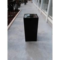 Pillar high gloss Urta black 60cm