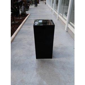 Eliassen Zuil  hoogglans  zwart 60cm