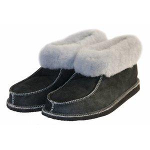 Woolen ladies slippers Blue