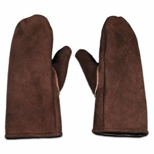 Men's wool mittens