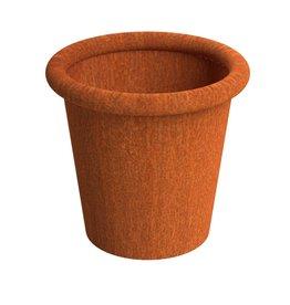 Adezz Producten Blumentopf Tube Adezz Cortenstahl