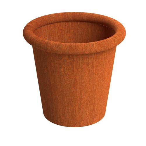Adezz Producten Flowerpot Tube Adezz corten steel