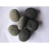 Ornamental boulders lava gray in 2 sizes