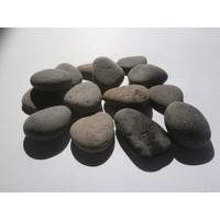 Ornamental boulders flat gray in 2 sizes