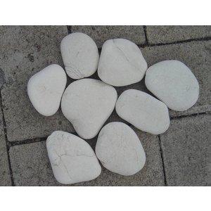 Eliassen Ornamental boulders flat white in 2 sizes