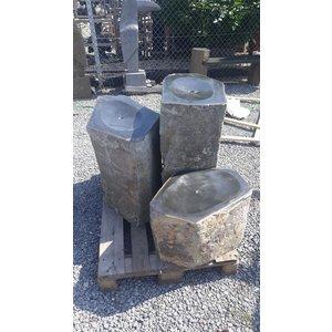 Eliassen Basaltsäulen breit in 3 Größen