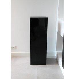 Eliassen Zuil  hoogglans  zwart 80cm