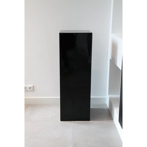 Eliassen Säule hochglanz schwarz 80 cm