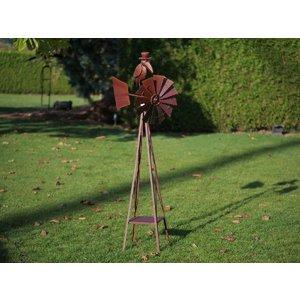 Eliassen Windmühle groß mit Krähe