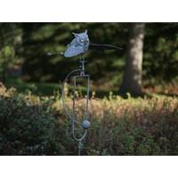 Balance Garten Vorbau Eulenfliegen