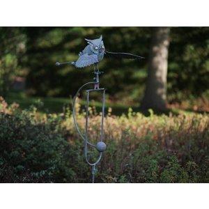 Eliassen Balance garden stem Owl flying