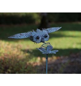 Eliassen Balance garden stem Owl flying - Copy
