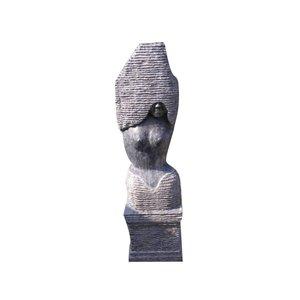 Eliassen Bild Stein 130cm einschließlich Sockel