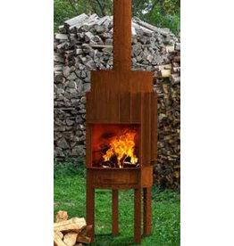 Adezz Producten Terrace fireplace Druce Burni Adezz