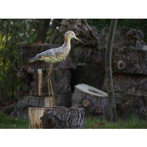 Bird iron Sandpiper head up