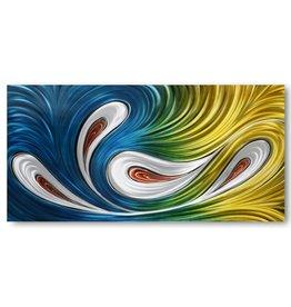 Painting aluminum Flair 80x160cm