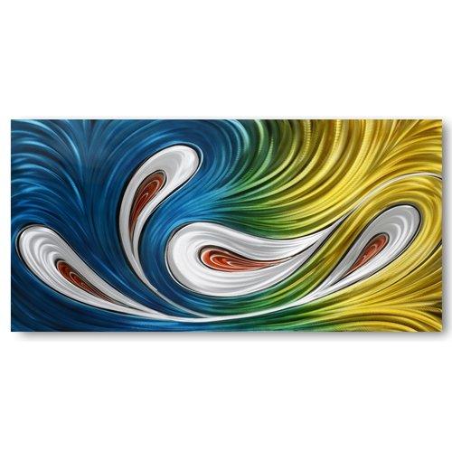 Schilderij aluminium  Flair 80x160cm