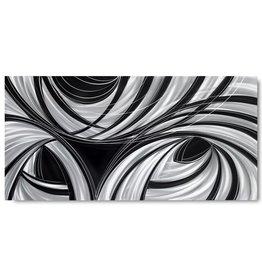 Lackierung Aluminium Schwarz 100x240cm