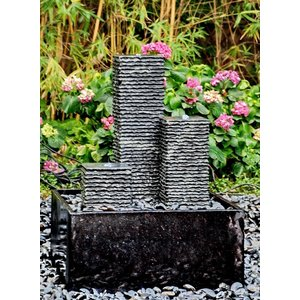 Eliassen Alaska fountain with polished water bowl