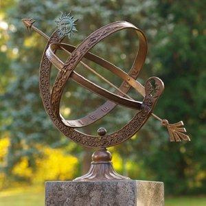 Eliassen Sundial bronze / brass 48cm