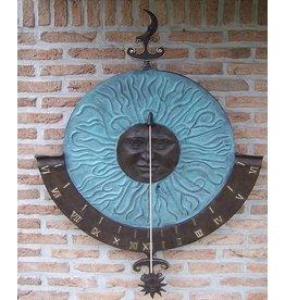 Eliassen Wandsonnenuhr Bronze super-groß