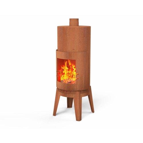 Adezz Producten Garden fireplace Bardi around Burni Adezz