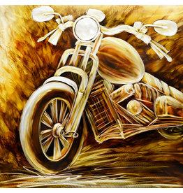 Painting aluminum Motor side 100x100cm