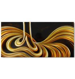 Painting aluminum lines 60x120cm