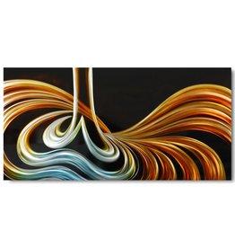 Painting aluminum Upwards 80x160cm